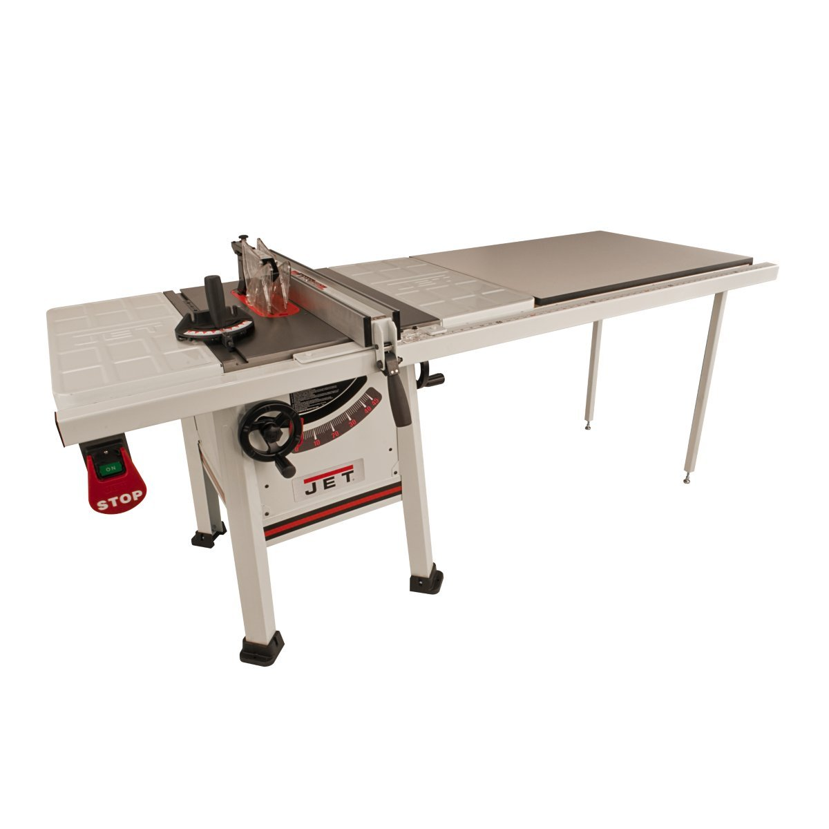 Jet 708493K JPS-10TS, 10-inch Proshop Tablesaw with 52-inch Fence, Steel Wings and With Riving Knife