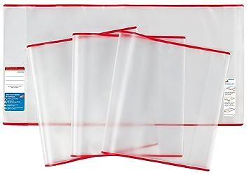 Buchumschläge Buchschoner Buchhülle für Buch Größen frei wählbar