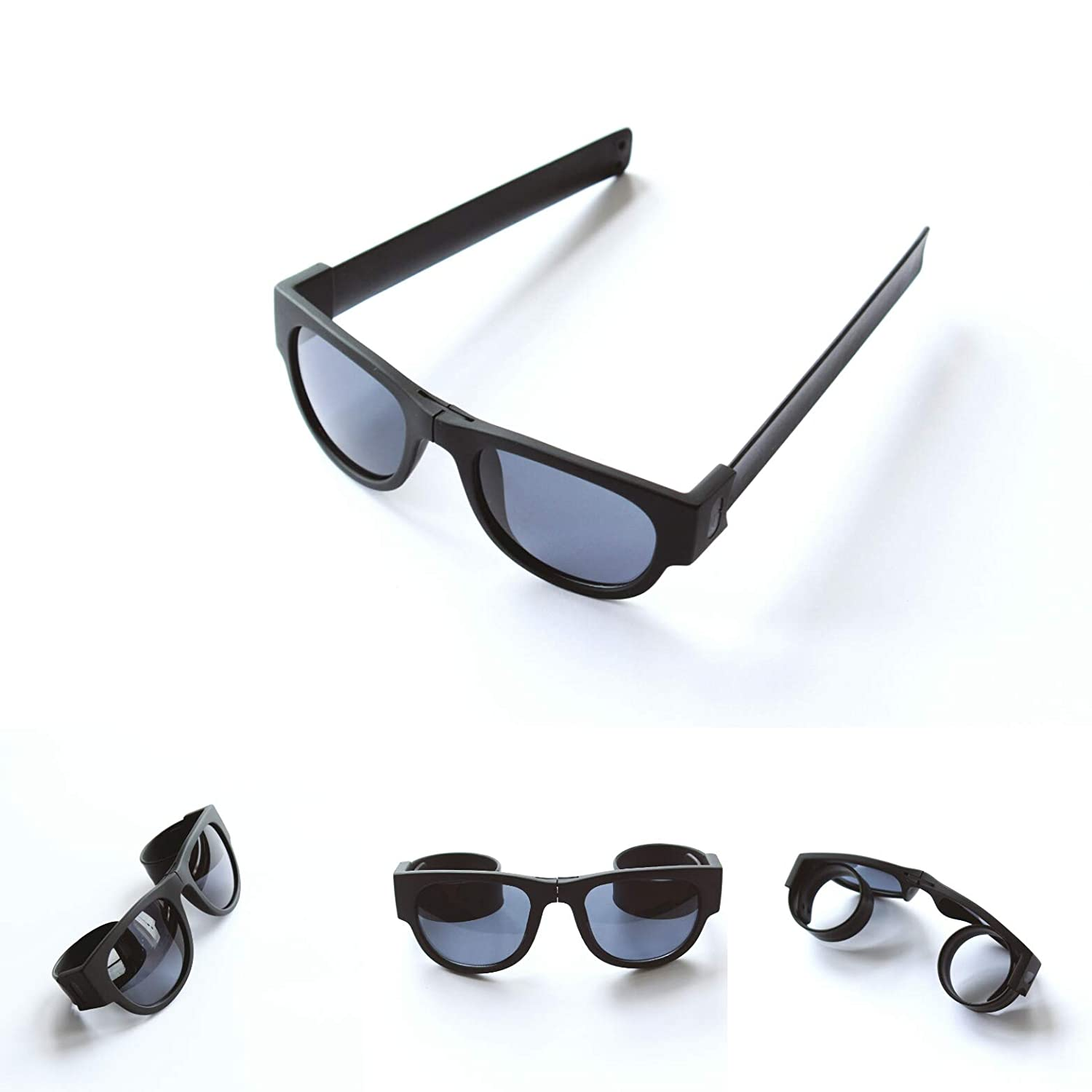 Slap-On - Gafas de sol unisex plegables y enrollables para ...