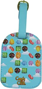 Candy Crush Luggage Tag All Over Print, Multi-Colored, One Size