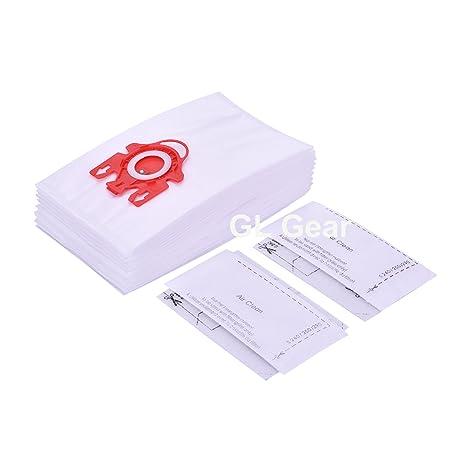 GL Gear 10 Pack Miele FJM aspiradora 3D Eficiencia Bolsas ...