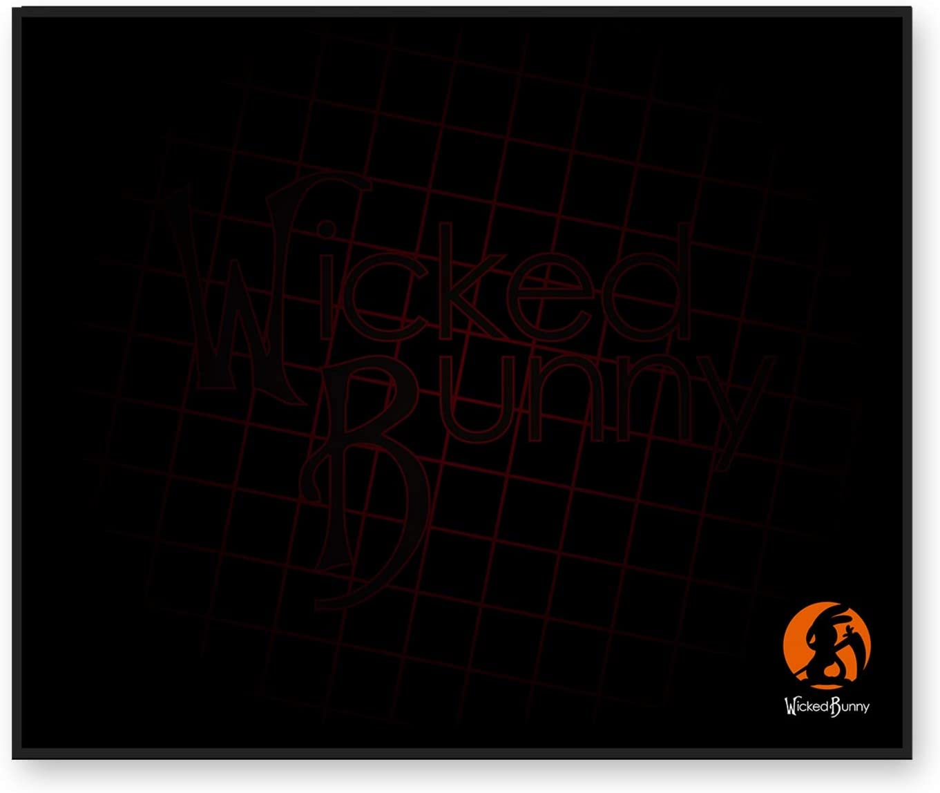 Water Proof and Flame Retardant Wicked Bunny Sprint Gaming Mouse Pad 900 x 410mm Anti Fraying with Three Sizes Available L Military Durability with Award Winning Cordura Fabric