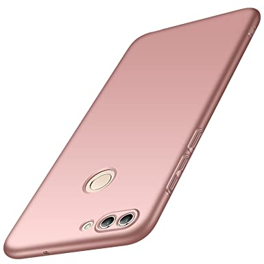 cheap for discount e6cbd d234b Huawei P Smart Case, UCMDA Slim Hard Cover with Matte Finish [Anti-Scratch]  [Anti-Slip] Minimalist Thin Full Body Protective Cover Case for Huawei P ...