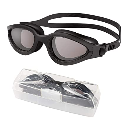 59e79f7105f Amazon.com   Aegend Polarized Swim Goggles