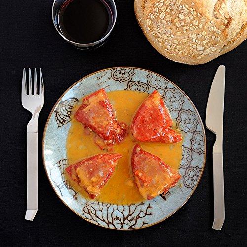 Gastronomic - Pimientos de Piquillo rellenos de Merluza con Gambas: Amazon.es: Alimentación y bebidas