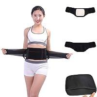 Fine Back Brace Support Belt,Adjustable Lumbar Brace Back Belt, Pain Relief - Breathable & Lightweight Material - Wide Support - for Lifting, Work, Gym, Posture