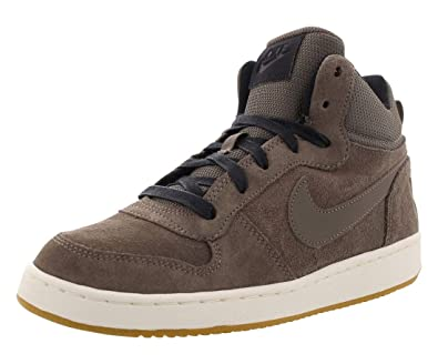 detailed look 2c0fa 3f144 Amazon.com  Nike Court Borough Mid PRM GS Hi Top Trainers 847746 Sneakers  Shoes  Fashion Sneakers