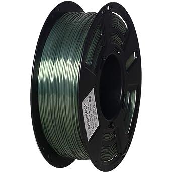 Filamento PLA de 1,75 mm, bronce sedoso, filamento GEEETECH para ...