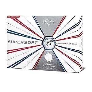 Callaway Golf Supersoft Golf Balls, (One Dozen)