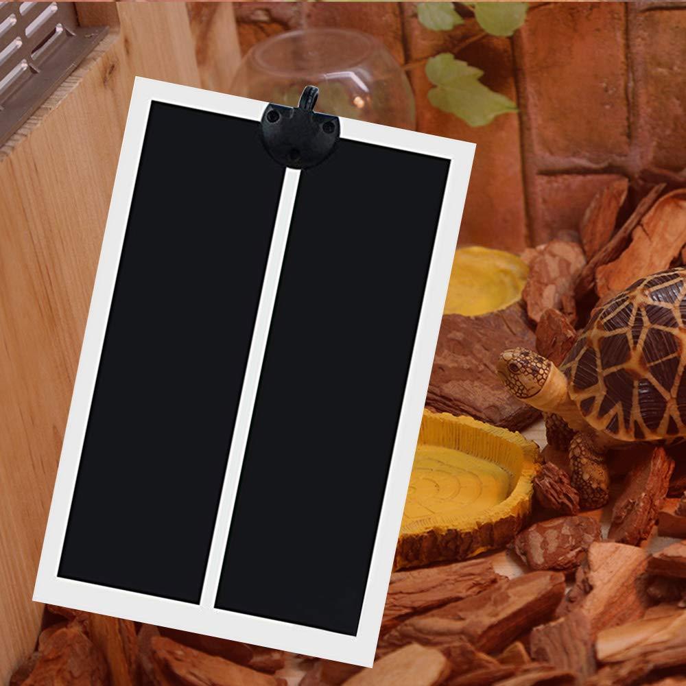 Leslaur Rettile Tappetino riscaldante per animali domestici Materassino 220V PTC Riscaldamento per animali domestici Sotto serbatoio Scalda tappetino Tappetino riscaldatore elettrico con regolatore di