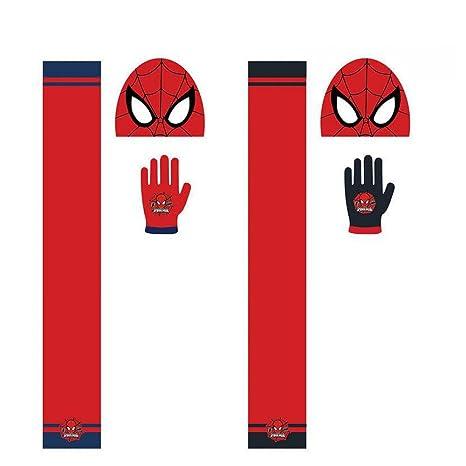 Conjunto gorro guantes bufanda Spiderman Marvel Mascara surtido: Amazon.es: Juguetes y juegos