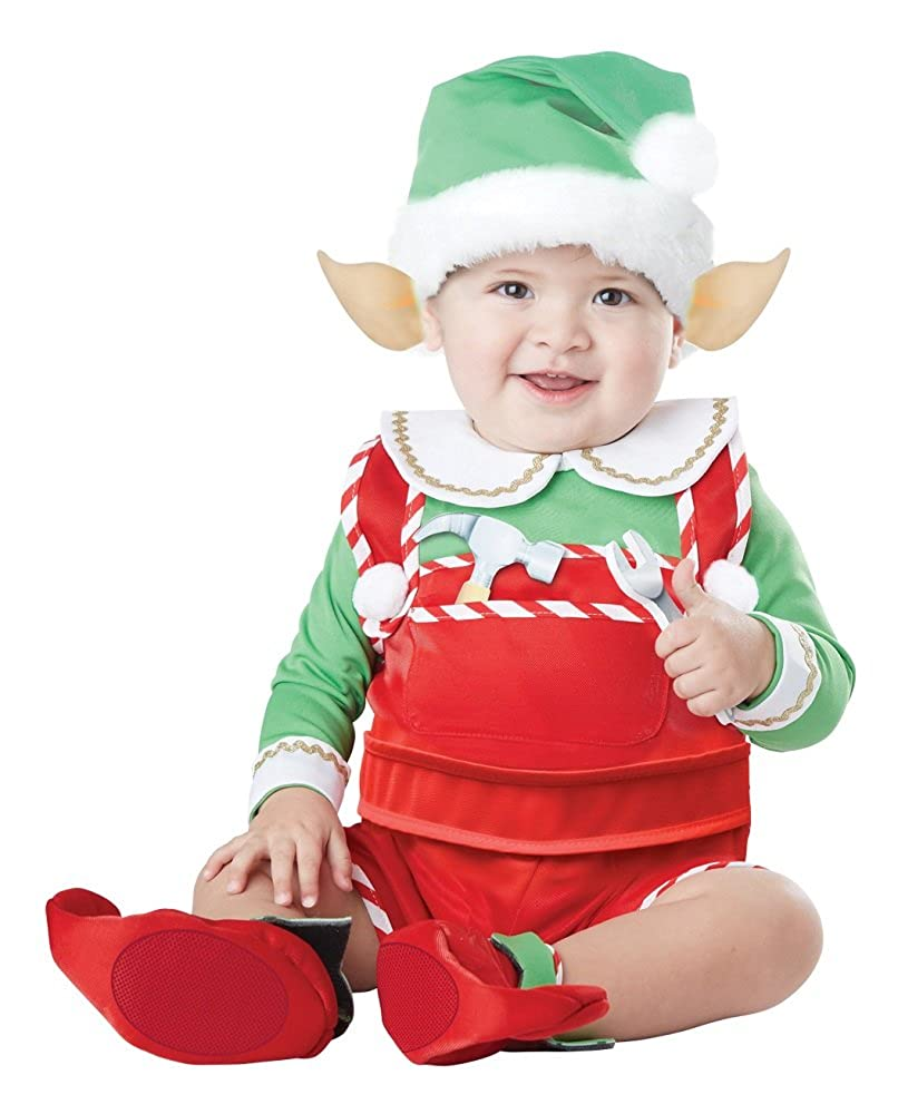 California Costumes Baby Santa's Lil' Helper