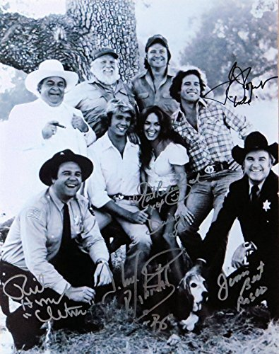Dukes of Hazzard Cast Signed Autographed 11X14 Photo Wopat Schneider Bach +2 COA ()