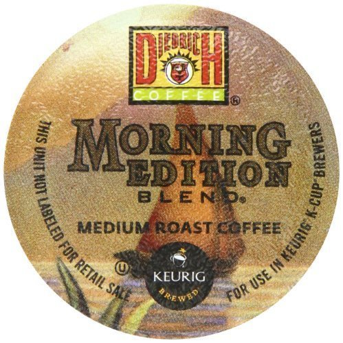 Diedrich Coffee Morning Edition Blend Keurig K-Cups, 24-Count by Blue Tiger Coffee [Foods]