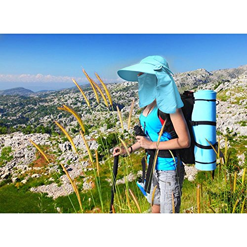 Fishing Hat 360°UV Protection Sun Hat UPF 50+ Summer Men Women Sun Visor 32d374b0f6d4