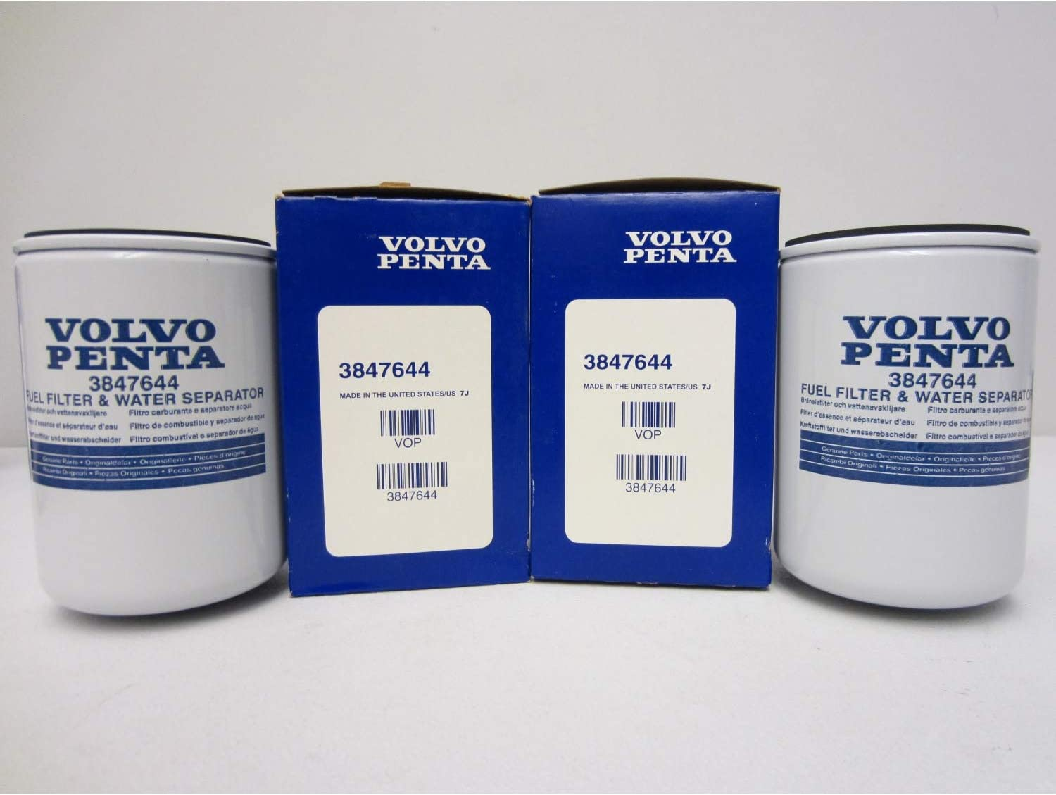 3862228 Volvo Penta Water Separating Fuel Filter Genuine OEM