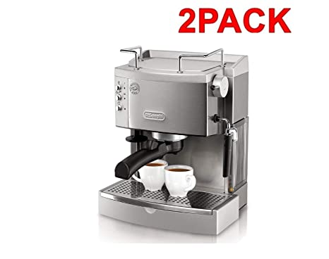 DeLonghi EC702 15-Bar-Pump Espresso Maker (2 Pack EC702)