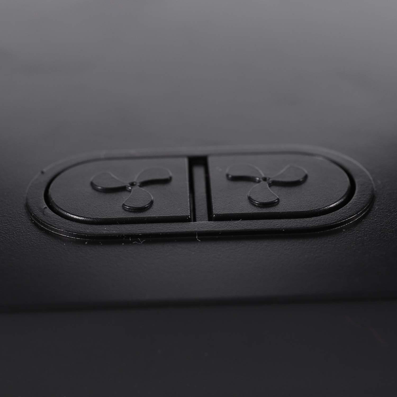 Globalflashdeal Portable 12 V 360 Gradi all-Round Regolabile Auto Auto Raffreddamento Ad Aria Dual Head Fan a Basso Rumore Auto Auto Raffreddamento Aria Fan Car Accessor