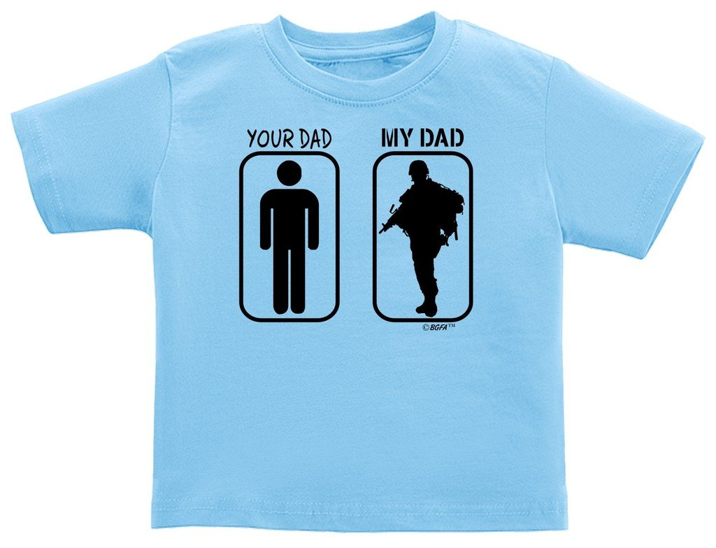 Baby Gifts For All Your Dad My Dad Soldier Pride Infant T Shirt 8163