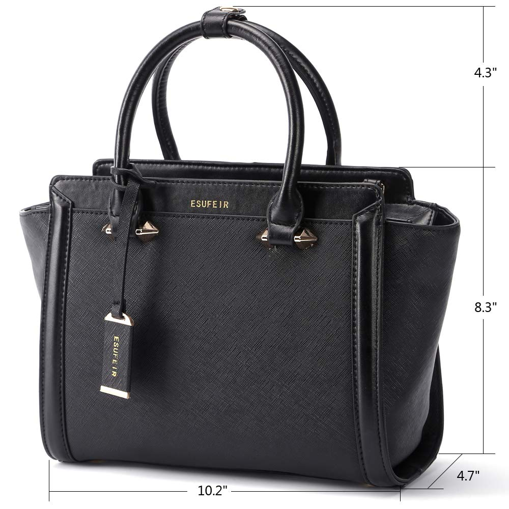 b9f3e60e743 Genuine Leather Women Handbag,Shoulder Bags,Designer Handbags for  Women,Leather Top-Handle Tote Bags Purses