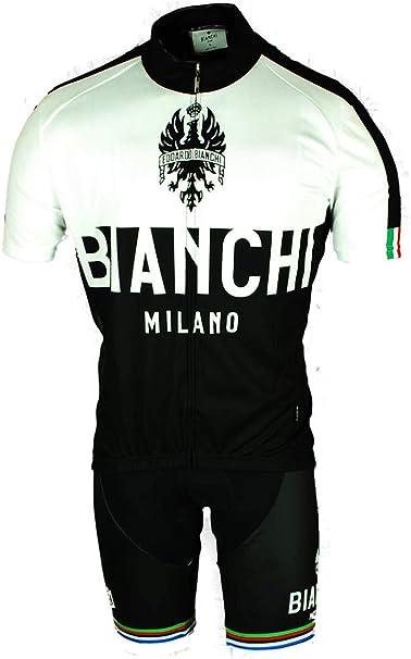 Amazon.com: Bianchi BX0061 Maglia Ciclismo - Traje de ...