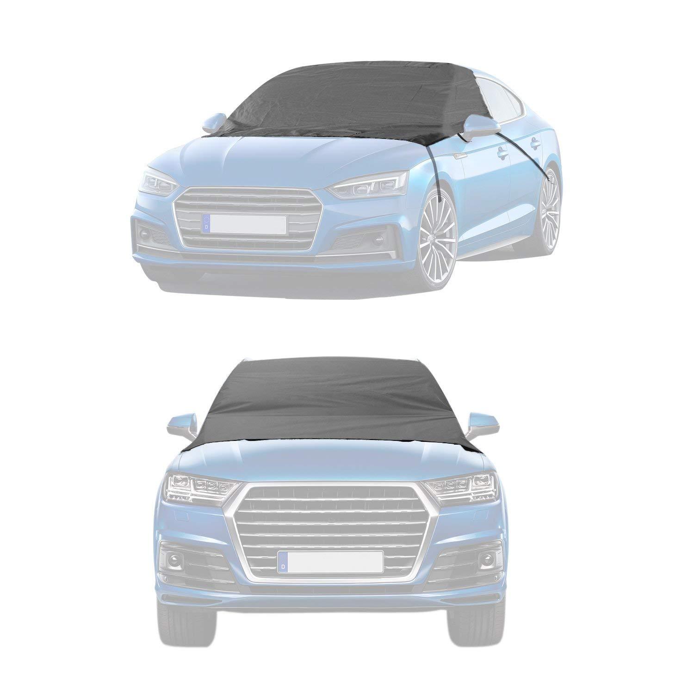 v/éhicule Monospace Sedan 165 x 110 cm Automotive pare-brise Ice couvertures de voiture Frost pare-brise Coque ext/érieur /étanche pluie pare-brise Ohuhu pare-brise Snow Housse CRV et coup/és Noir