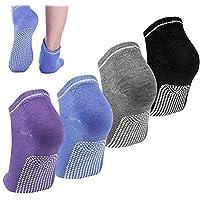Women Ladies Non Slip Yoga Pilates Socks Ankle Grip Socks Anti Slip Socks