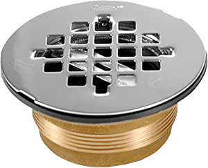 Oatey 42150 Nc Brass No Calk Shower Drain With Stainless