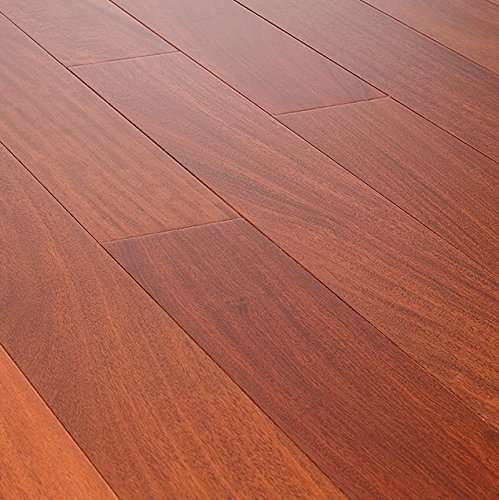 (42.06SF AMERIQUE Prefinished Engineered Santos Mahogany Natural Hardwood Flooring Premium Grade 7