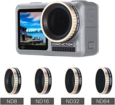ND8 Lens Filter for DJI Osmo Action for DJI Gopro Action Camera
