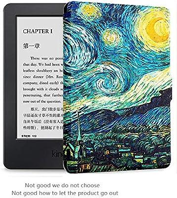 Versiones 2012, 2013, 2015, 2016 y 2017 Cover con Auto Despertar//Dormir Goaeos Pintura Case Funda para  Kindle Paperwhite Viene con una pel/ícula Protectora HD Biblioteca