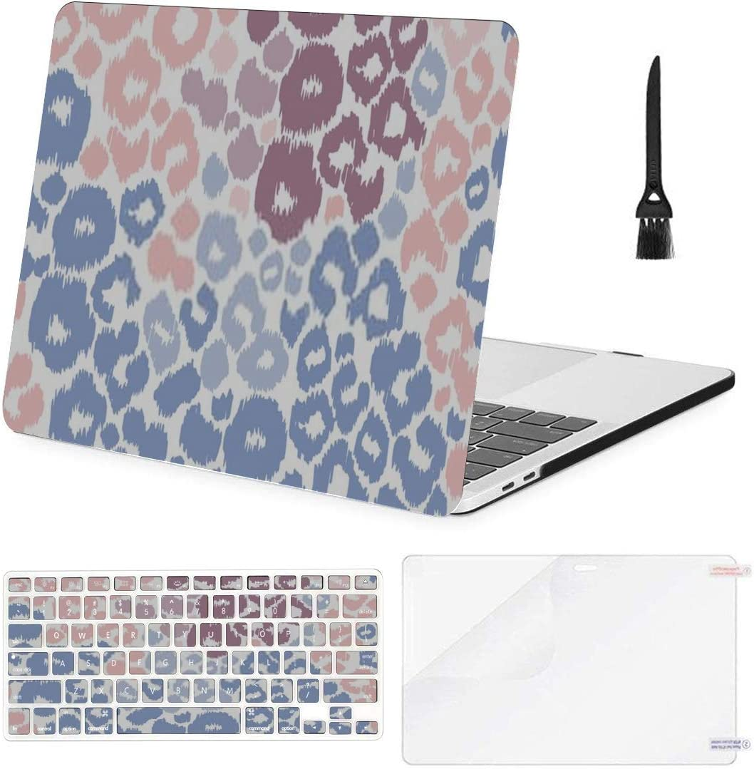 Laptop Sleeve for MacBook Pro Air Retina 11 13 15With Touch Bar Giraffe Print Case for Mac Book 13.3 Inch Cover-Baby Blue-Air 13 A1932 2018 2019