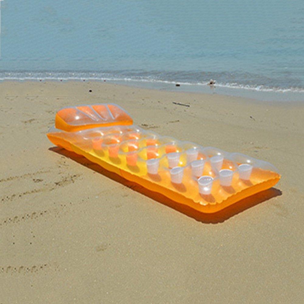 floating-Reihe Wasser Aufblasbares Schwimmbett Einzelne Wasser ...