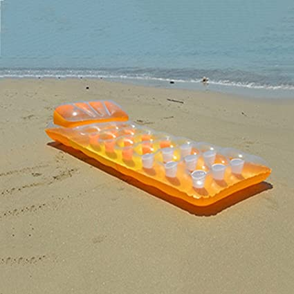 flotantes en hileras Hinchables de agua, la cama flotante ...