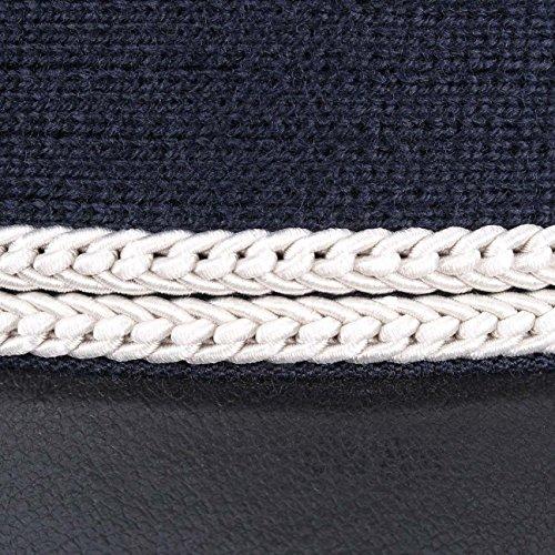 Casquette de Pilote Lierys bonnet d´aviateur casquette (59 cm - bleu)