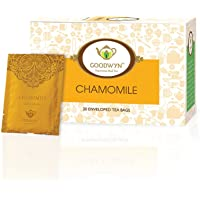 Goodwyn Chamomile Herbal Stress Relief Tea, 20 Tea Bags