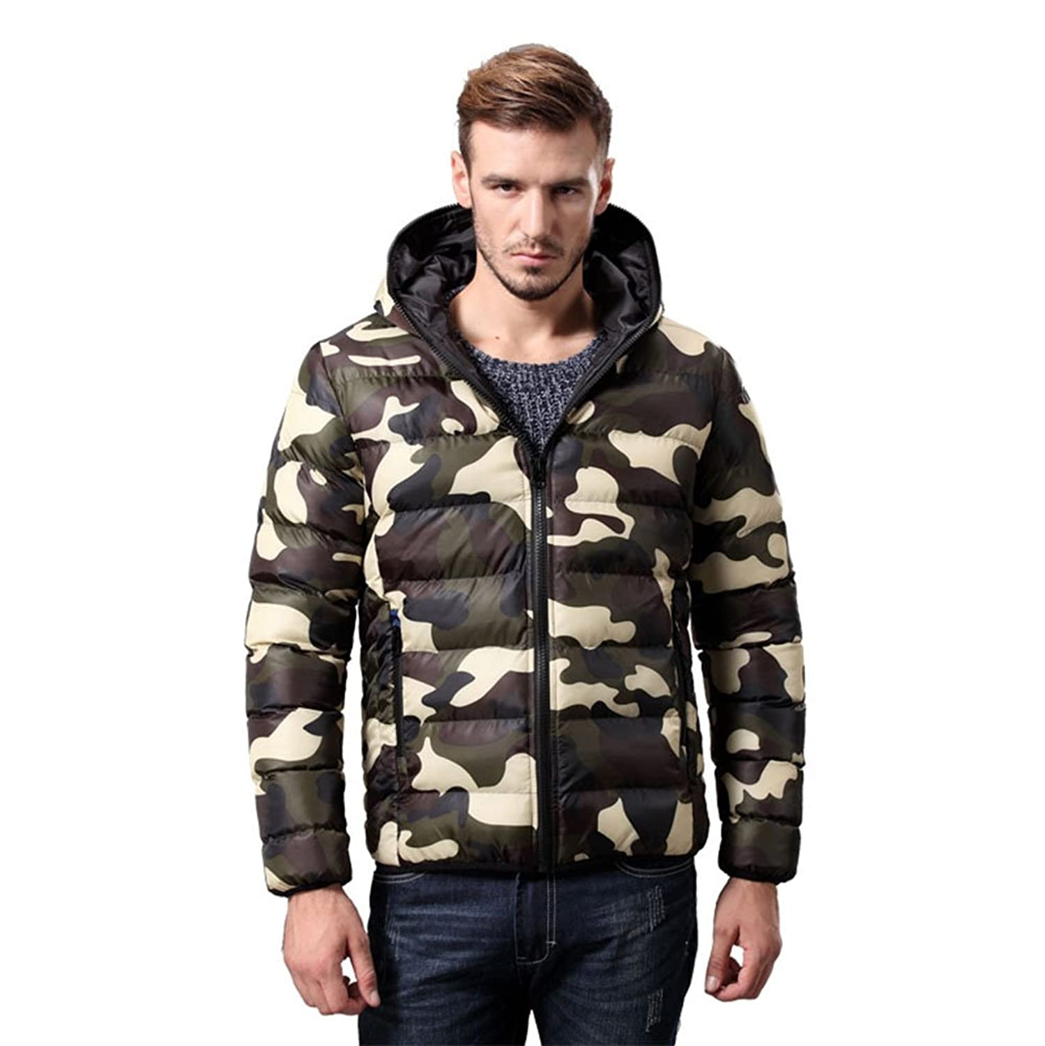 Amazon.com: Maldonado Mens Winter Thick Cotton Coats Hoodies Outwear Warm Down Jacket Parka Thick: Clothing