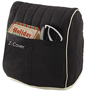 Best Mixer Cover For Tilt-Head Stand, Artisan and Classic Mixers - 100% Cotton, Z-Cover, Black