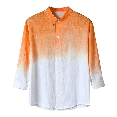 ZODOF camisa hombre camisas sport Casual Comodo Guay Delgado ...