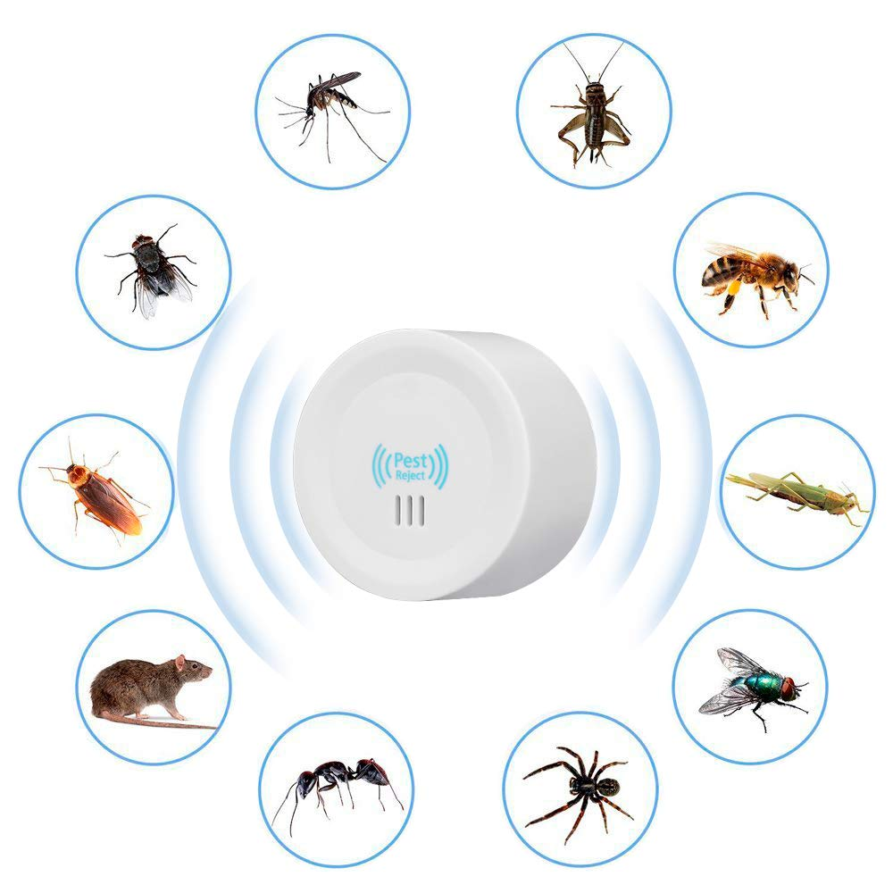 KACOOL Ultrasonic Pest Repeller, Electronic Indoor Home Pest Control Repellent Device, Pest Reject Machine for Rats Mice Ants Roaches Mosquitoes Insects Flea Spiders (B07R1VDJC2) Amazon Price History, Amazon Price Tracker