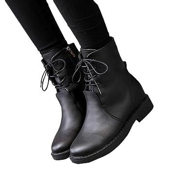 ... de Nieve de Las Mujeres Clásicos Botas de Nieve de Las Mujeres Tacones Planos de Black Friday Zapatos de Invierno Botas: Amazon.es: Ropa y accesorios