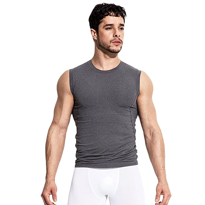 Lvguang Camisetas De Tirantes Deportivo Gimnasio Fitness Running Tops Camisetas Hombre Tank Sleeveless Gym T-