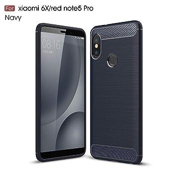 Xiaomi Redmi Note 5 Funda, MHHQ Carcasa Redmi Note 5 Pro Slim Soft TPU Silicone