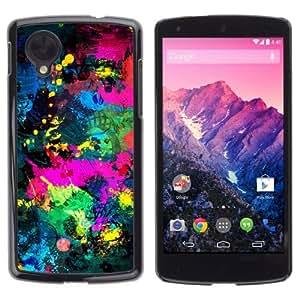 YOYOSHOP [Cool Abstract Color Splash] LG Google Nexus 5 Case by Maris's Diary