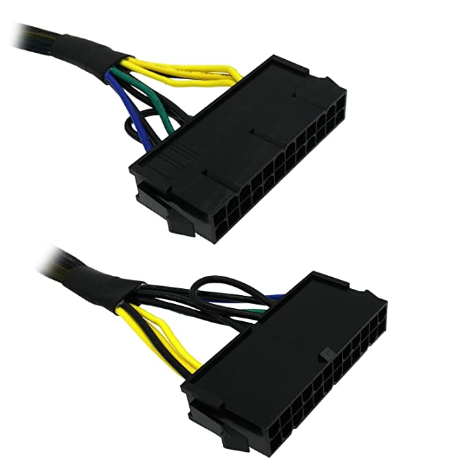 Amazon Eap 24 Pin To 10 Atx Psu Main Power Adapter Braided Sleeved Cable For Ibmlenovo Pcs And Servers 12inch30cm Puters Accessories: Server Mini 24 Pin Wiring Diagram At Eklablog.co