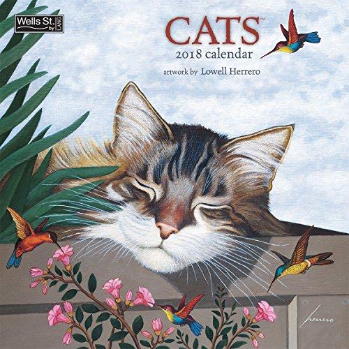 The LANG Companies WSBL Cats 2018 12X12 Wall Calendar Office Wall Calendar (18997001718)