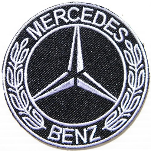 Mercedes Benz Logo Sign Motorsport Car Racing Patch Sew Iron on Applique Embroidered T shirt Jacket Costume BY SURAPAN