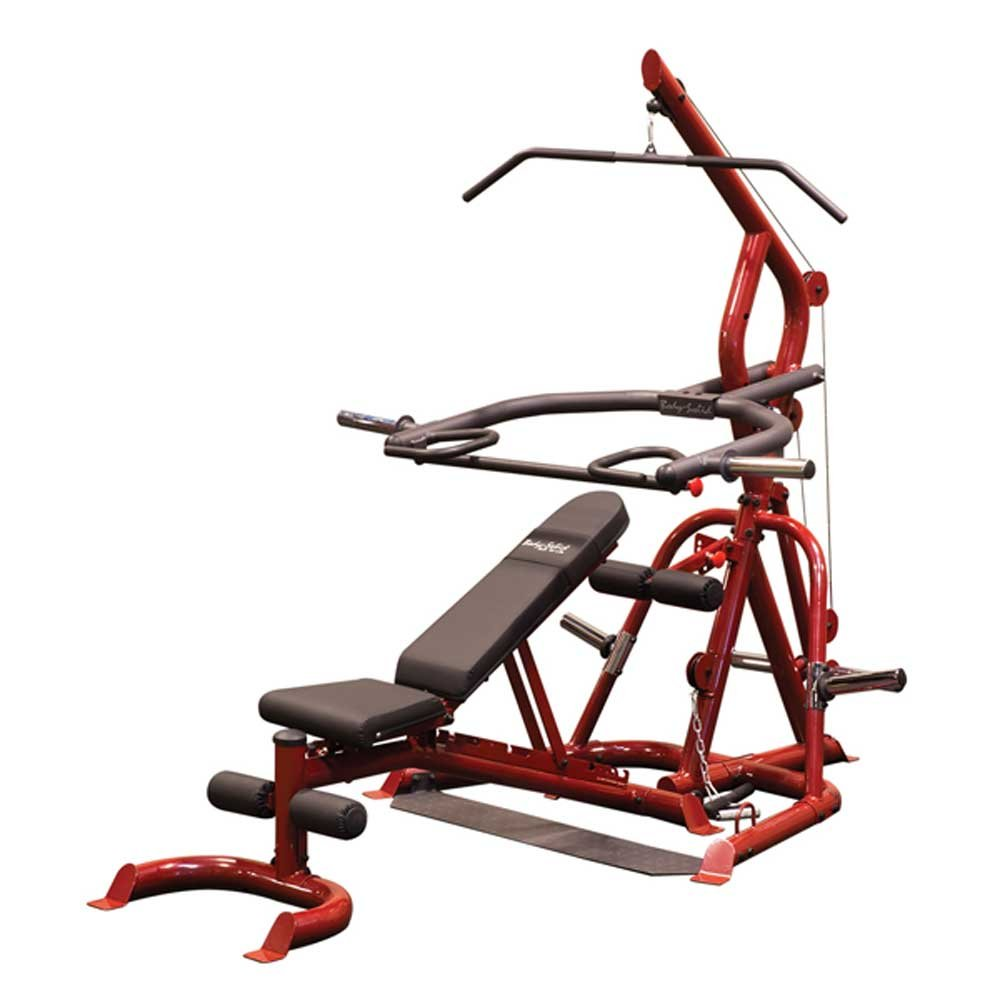 Body-Solid GLGS100P4 Corner Leverage Gym Package by Body-Solid
