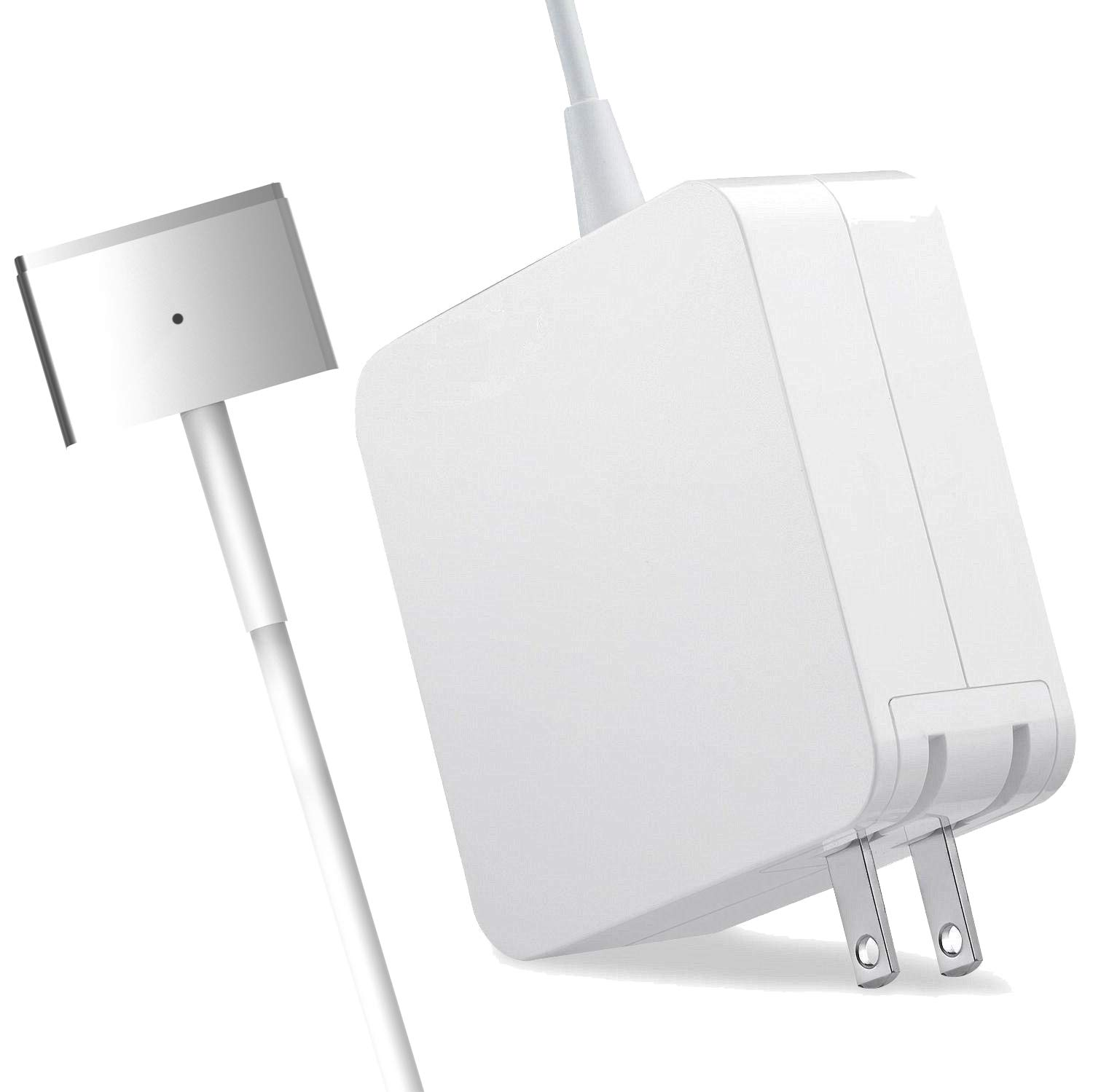 Sngg Mac Book Pro Charger, Replacement 60W Magsafe 2 Magnetic T-Tip Power Adapter Charger,Compatible Mac Book Pro/Air 13 Inch (Mid 2012 Later Model)