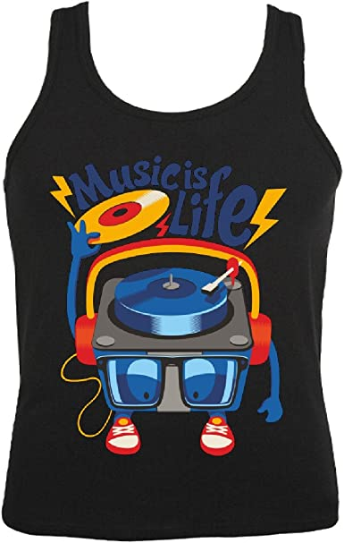 Camisa del músculo Tank Top Música - Rock n Roll - Salsa ...